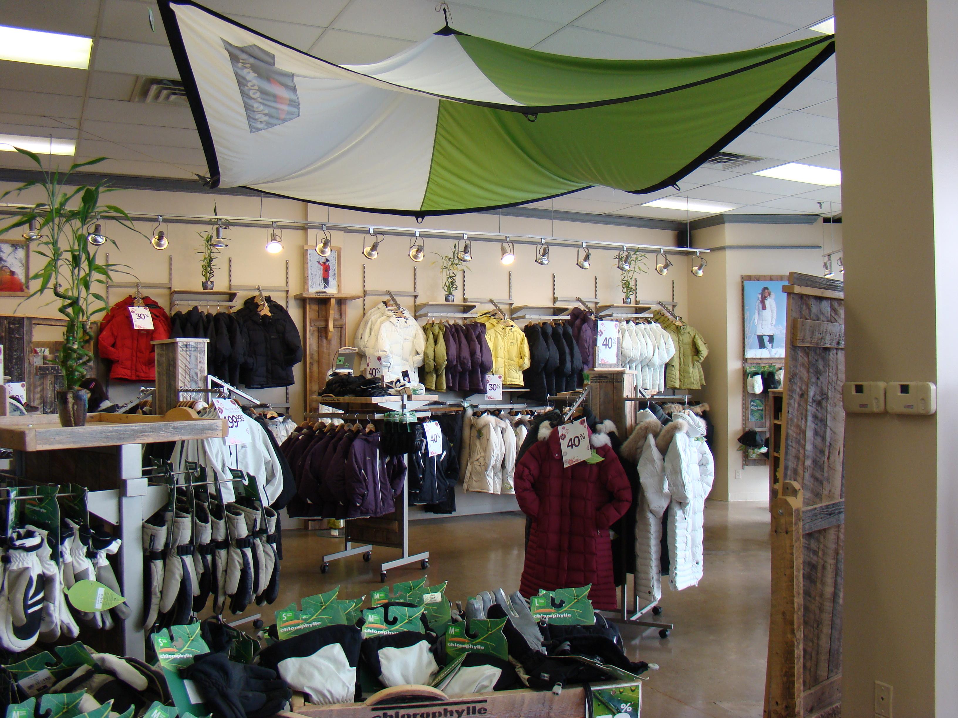 Boutique Chlorophylle (23 Succursales en collaboration)